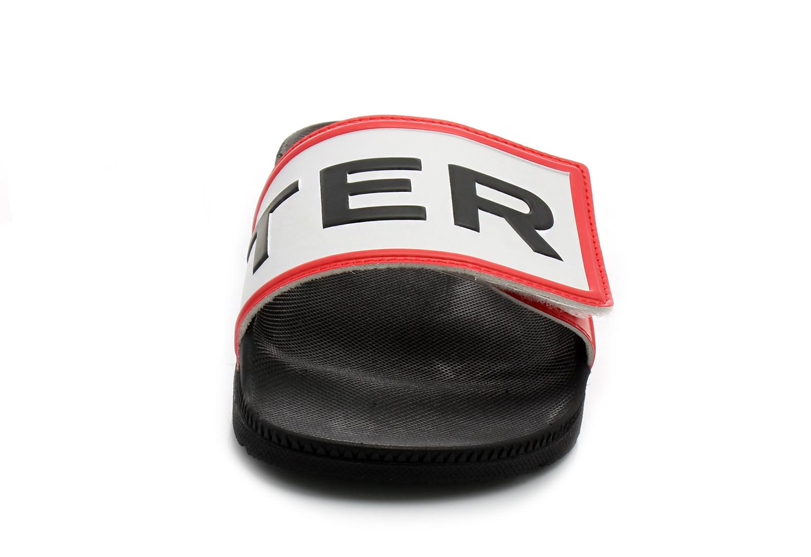 Hunter Slippers - Original Logo Slide - WFD4018EVA-BLK - Online shop ... 9b00f2d865