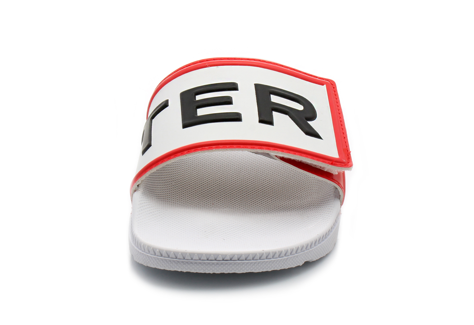 Hunter Slippers - Original Logo Slide - WFD4018EVA-WHT - Online shop ... 9b47e40bad