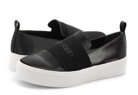 Calvin Klein Black Label Cipele Jacinta Satin Canvas