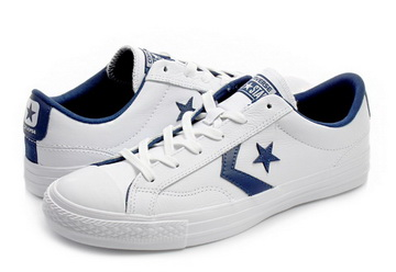 Negozio online Converse UK 3 4 4.5 5 White Star Player Da