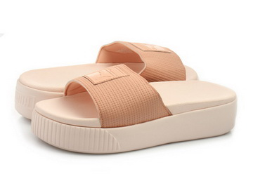 20fb65e46340 Puma Papucs - Platform Slide Wns Ep - 36612201-pnk - Office Shoes ...