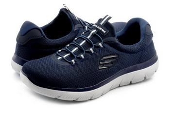 Skechers Półbuty Summits 52811 nvy Obuwie i buty damskie, męskie, dziecięce w Office Shoes