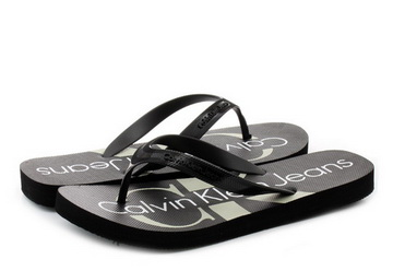 4b506a8a8f Calvin Klein Jeans Slippers - Dash - S0063-BLK - Online shop for ...