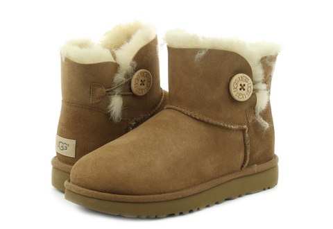 Ugg Čizme Mini Bailey Button Ii