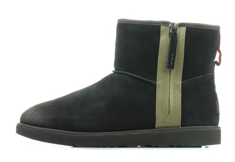 Ugg Wysokie Buty Classic Mini Zip Waterproof