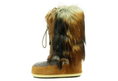 Moon Boot Cizme Mb Classic Faux Fox/tartan