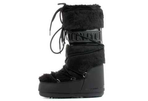 Moon Boot Wysokie Buty Moon Boot Classic Faux Fur