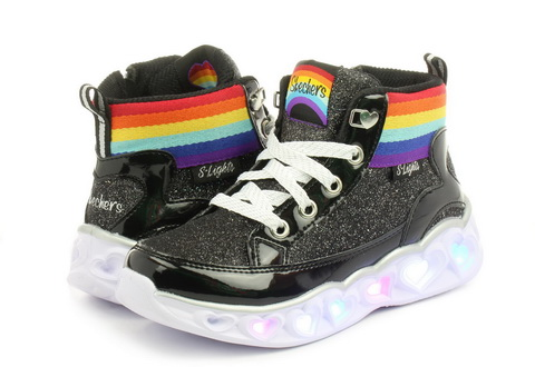 Skechers Čevlji Heart Lights - Rainbow Diva