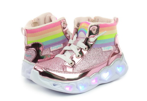 Skechers Shoes Heart Lights - Rainbow Diva