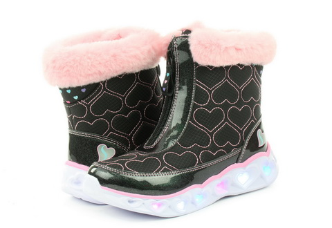 Skechers Škornji Heart Lights - Happy Hearted
