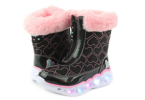 Skechers Wysokie Buty Heart Lights - Happy Hearted