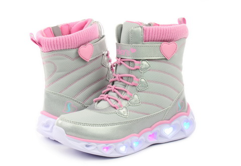 Skechers Škornji Heart Lights - Heart Chaser
