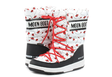 Moon Boot Škornji Moon Boot Jr Girl Q.ladybug Wp