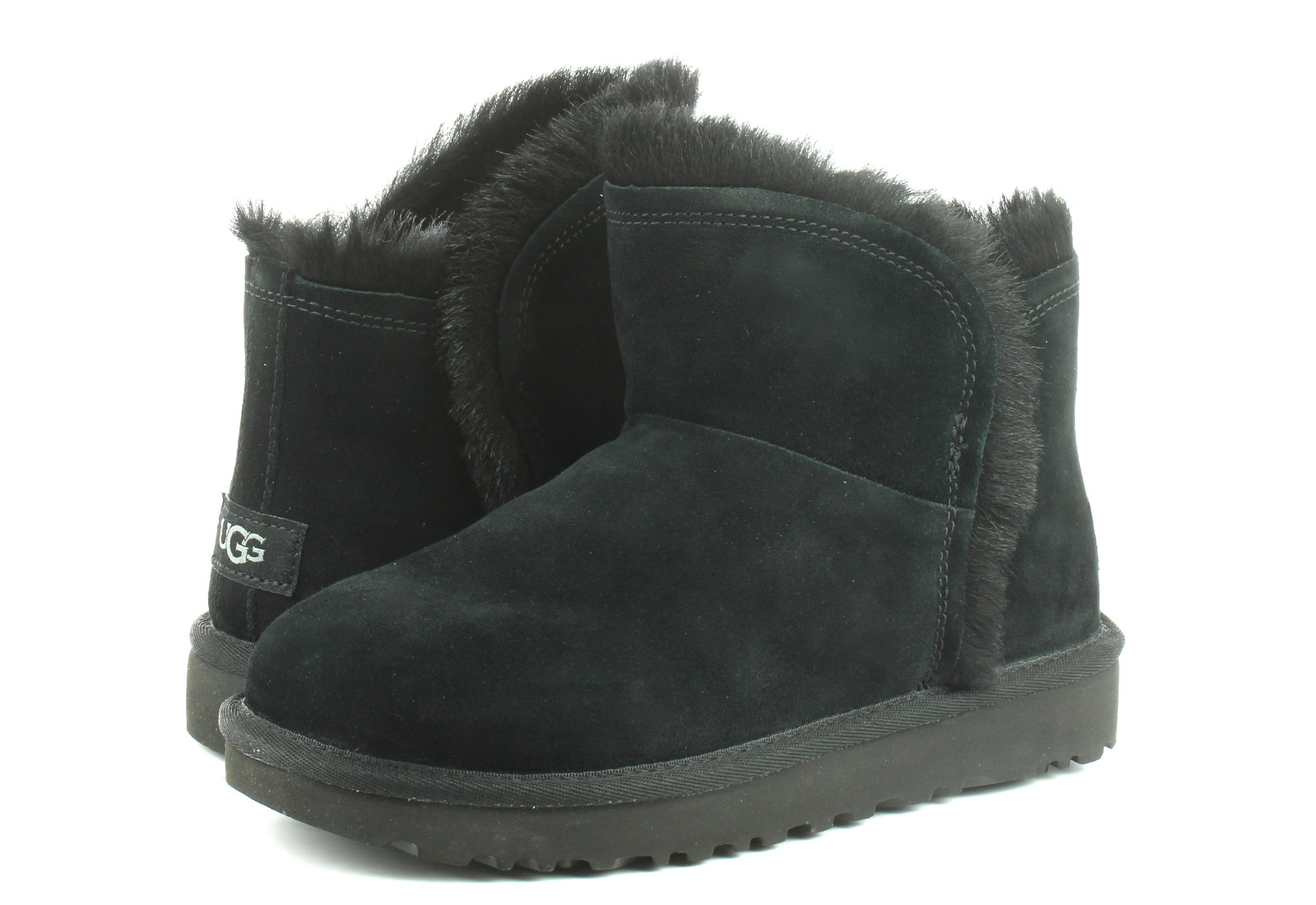 Ugg Csizma Classic Mini Fluff High-low