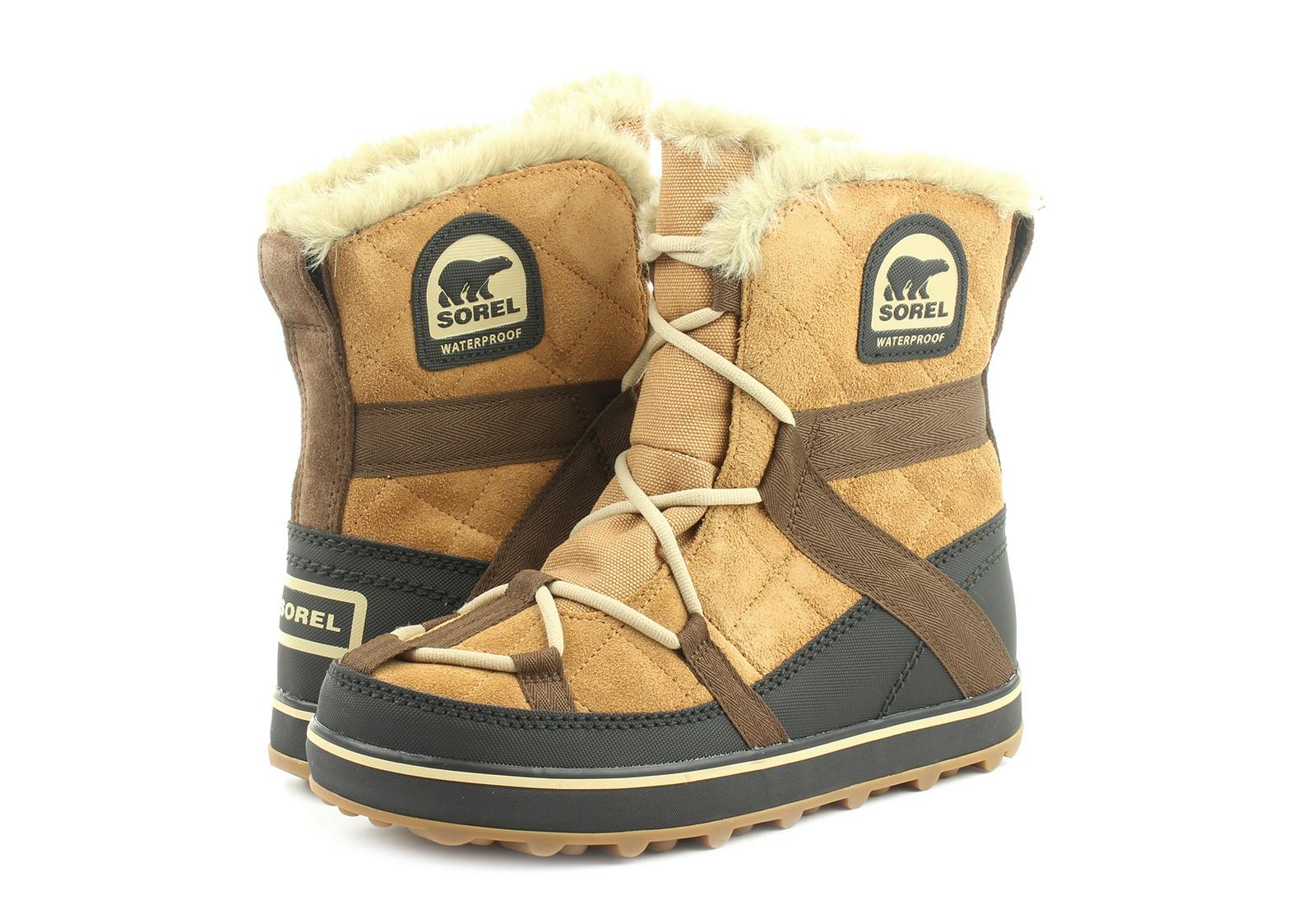 Sorel Škornji Glacy Explorer Shortie