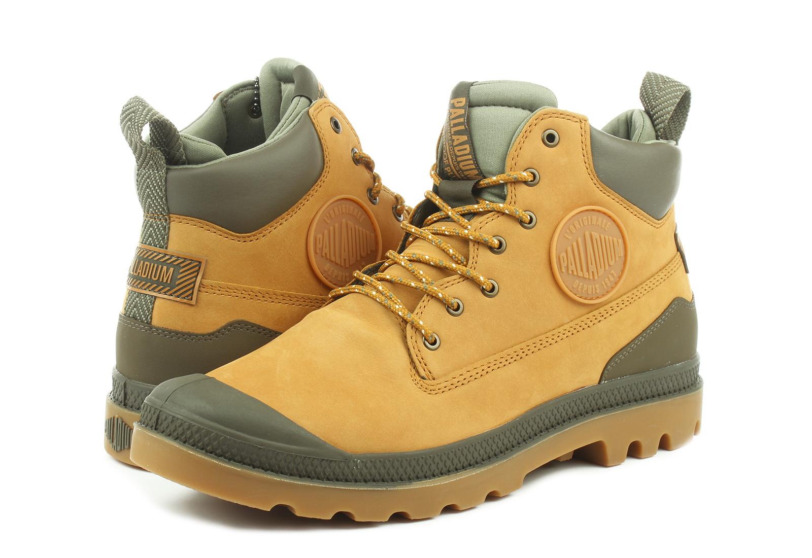 rozmiar 7 Najlepiej cienie Palladium Buty Zimowe - Outsider Wp + U - 76472-717-M - Obuwie i buty  damskie, męskie, dziecięce w Office Shoes