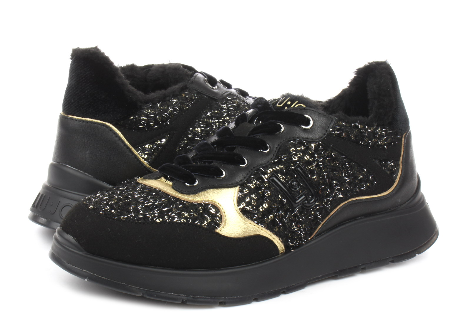 sports shoes f18d6 d0204 Liu Jo Shoes - Asia sneaker - B69009TX049-BLK - Online shop for sneakers,  shoes and boots