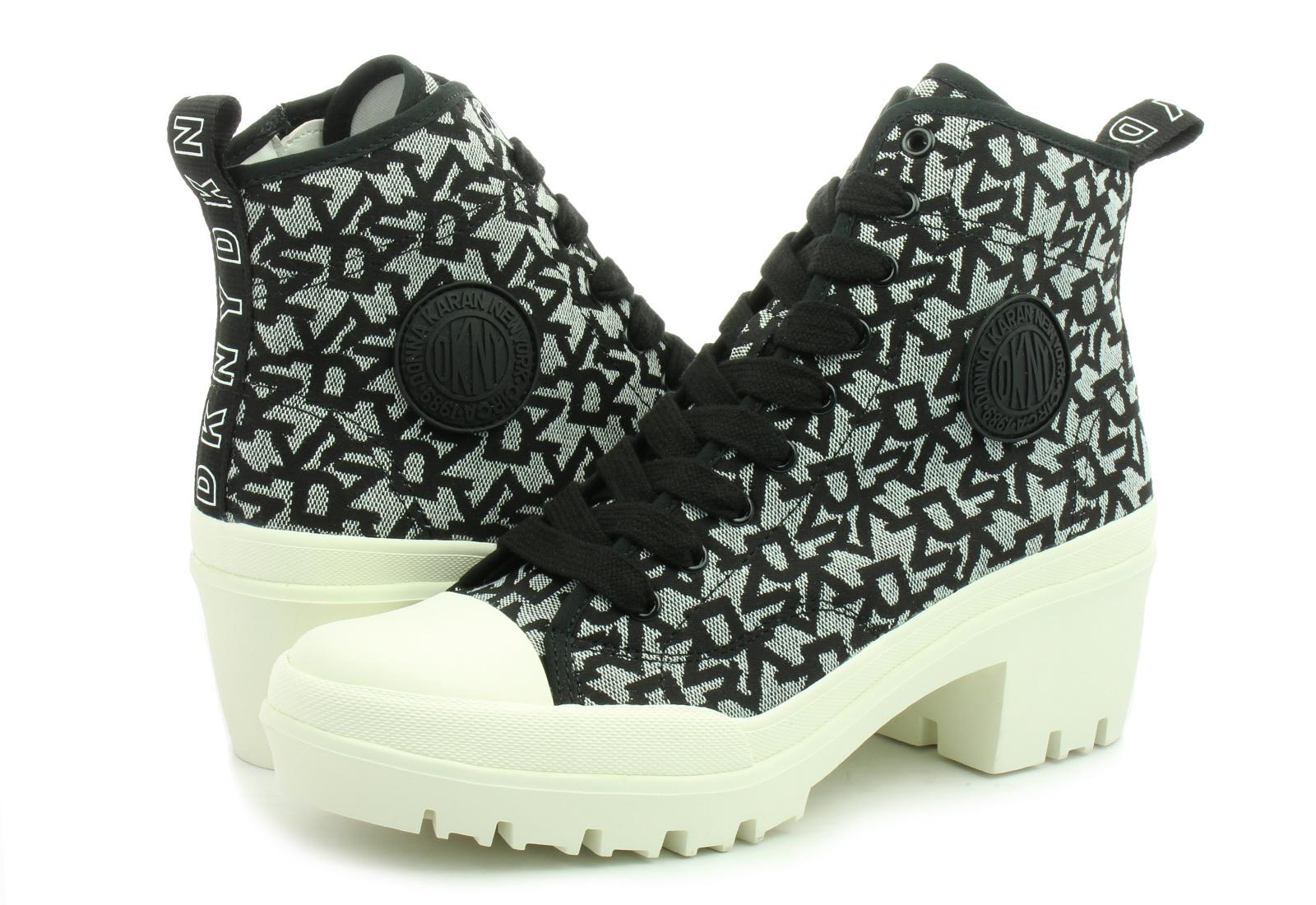 DKNY Cipő Pandie - Lug Bootie