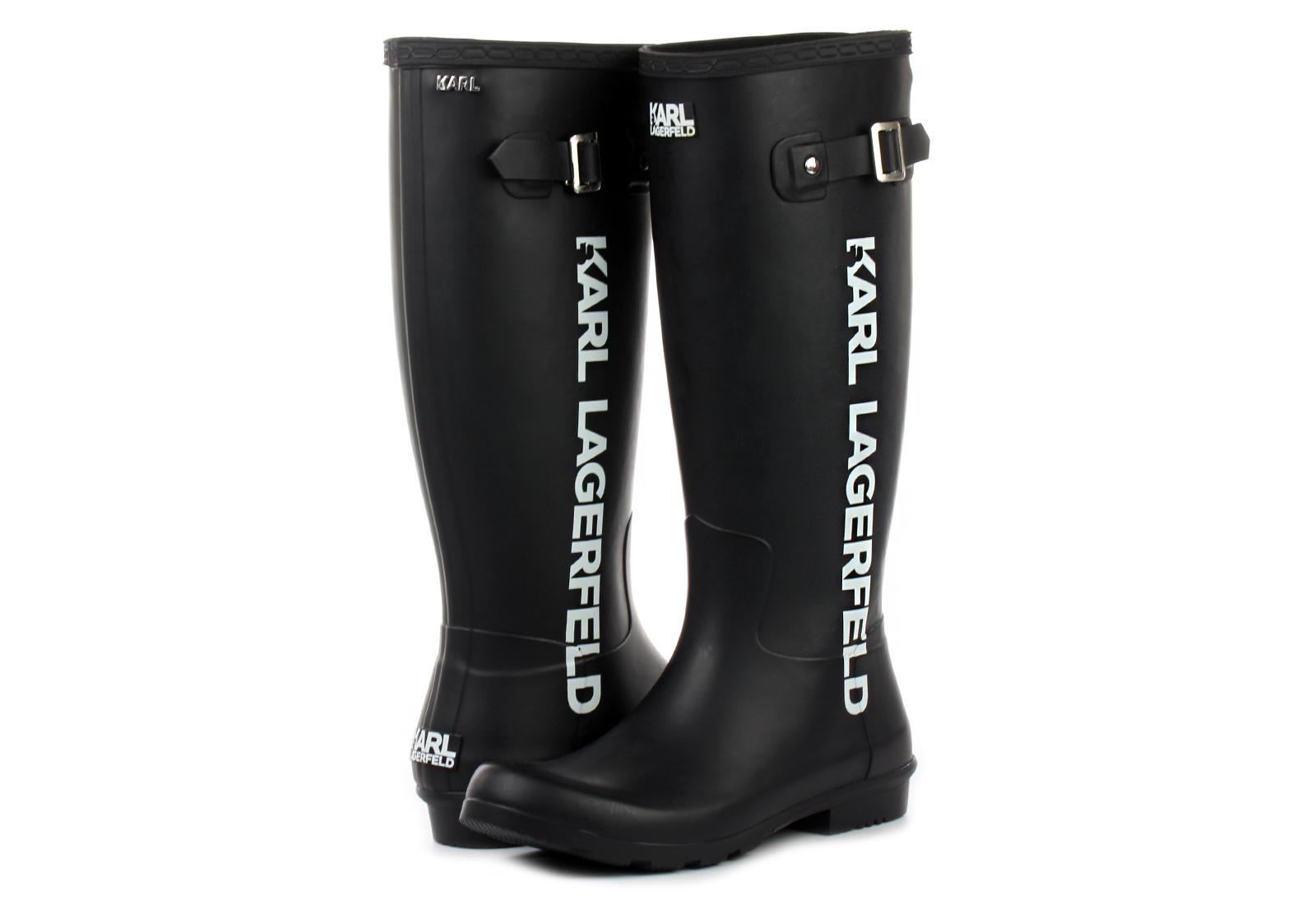 Karl Lagerfeld Cizme Kalosh Karl Band Boot