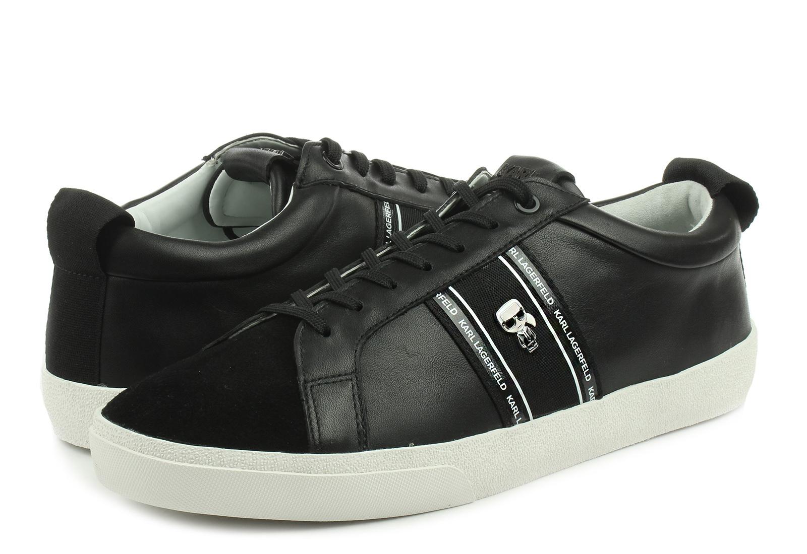 Karl Lagerfeld Pantofi Skool  Ikon Strip Lo Lace