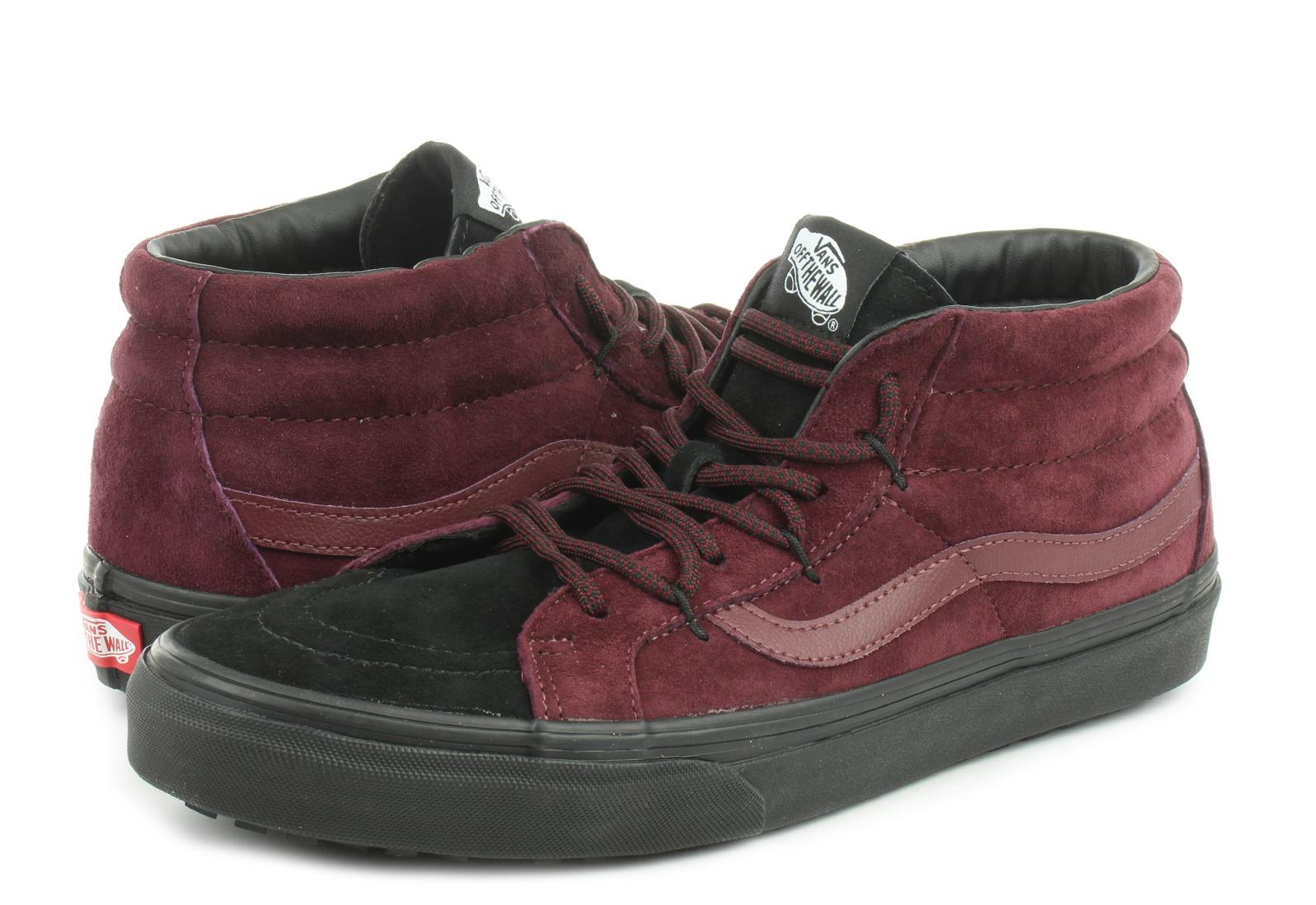 Buty męskie sneakersy Vans Sk8 Mid VA3TKQXKZ | FIOLETOWY