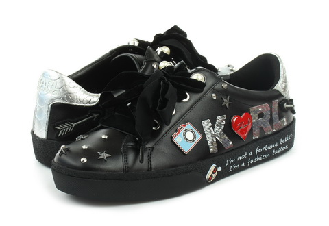 Karl Lagerfeld Pantofi Skool Jewel Badge Lo