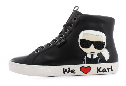 Karl Lagerfeld Półbuty Skool Karl Ikonic Hi Lace