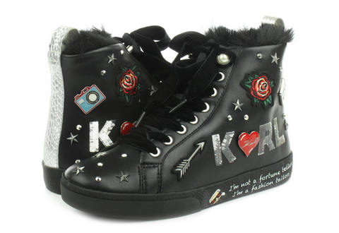 Karl Lagerfeld Cipele Skool Jewel Badge Hi