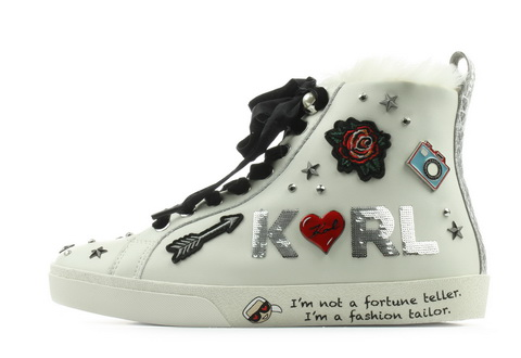 Karl Lagerfeld Półbuty Skool Jewel Badge Hi