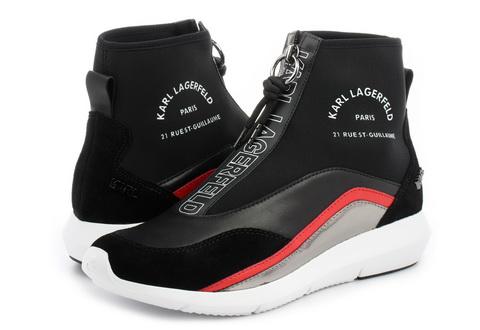 Karl Lagerfeld Čevlji Vitesse Neo Sock Zip Boot