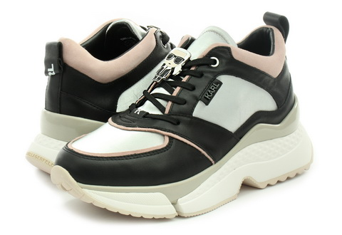 Karl Lagerfeld Čevlji Aventur Lux Lthr Lace Shoe