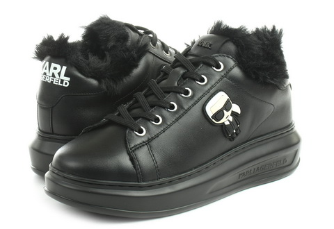 Karl Lagerfeld Shoes Kapri Karl Ikonic Fur Lace