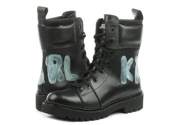 Karl Lagerfeld Bakancs Kadet Ii Hi Lace Boot