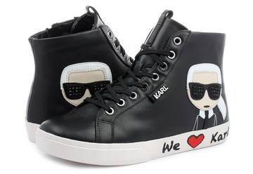 Karl Lagerfeld Cipő Skool Karl Ikonic Hi Lace