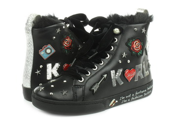Karl Lagerfeld Pantofi Skool Jewel Badge Hi