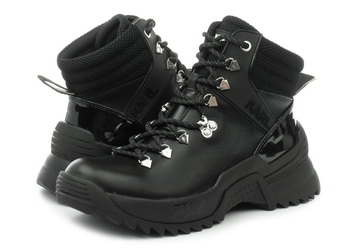 Karl Lagerfeld Čevlji Quest Cross Lace Mid