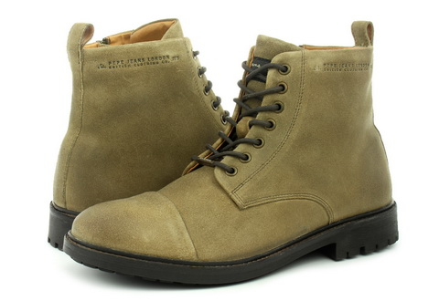 Pepe Jeans Boty Porter Boot Suede