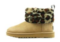 Ugg Vysoké Topánky, Čižmy Fluff Mini Quilted Leopard 3