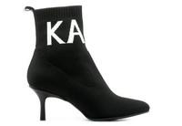 Karl Lagerfeld Pantofi Pandora Knit Collar Ankle Boot 5