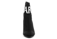 Karl Lagerfeld Pantofi Pandora Knit Collar Ankle Boot 6