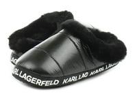 Karl Lagerfeld Papucs Arktik Puff Slipper