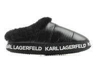 Karl Lagerfeld Papucs Arktik Puff Slipper 5