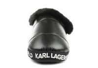 Karl Lagerfeld Papucs Arktik Puff Slipper 6