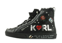 Karl Lagerfeld Pantofi Skool Jewel Badge Hi 3