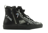 Karl Lagerfeld Pantofi Skool Jewel Badge Hi 5