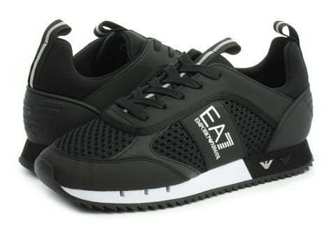 Emporio Armani Patike Black & White laces U