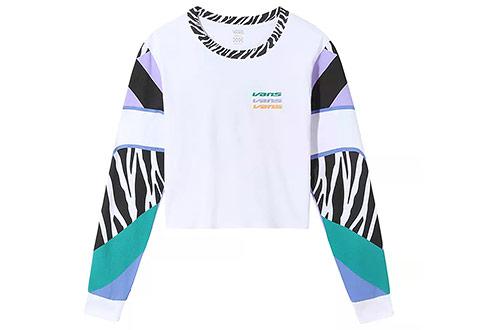 Vans Majice Zebra Boyfriend Crop