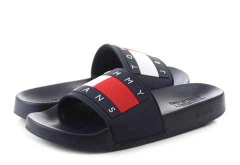 Tommy Hilfiger Pantofle Aqua 4
