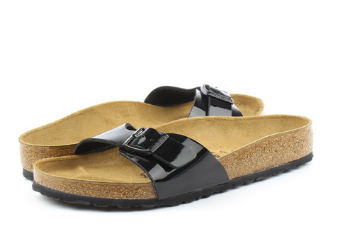 Birkenstock Pantofle Madrid Black