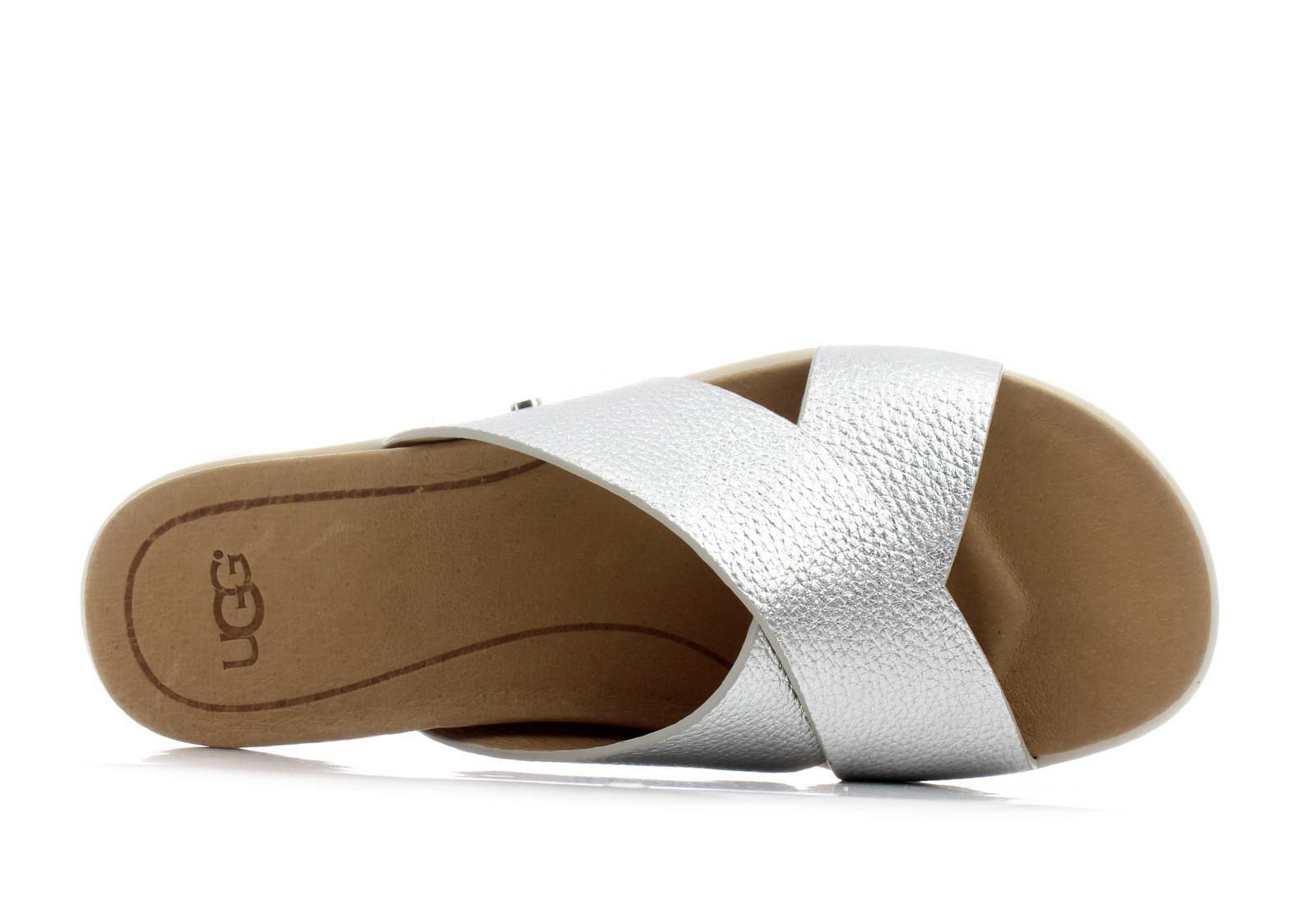 Ugg Slippers Kari Metallic 1102911 Slvr Online Shop